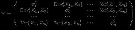 dimensionality reduction, matrice di covarianza
