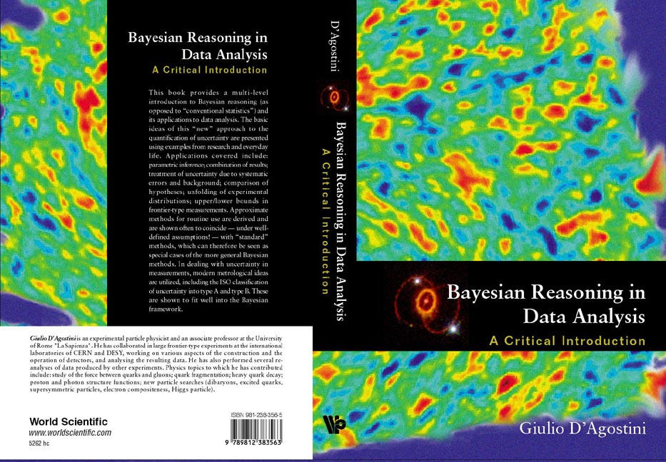 G  D'Agostini: Bayesian reasoning in data analysis - A